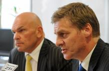 Rodney Hide and Bill English. Pic: NZPA