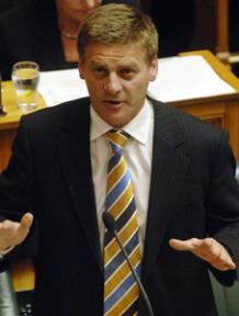 Bill English Pic: NZPA