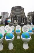 Loo Protest Flushed Out Of Parliament Grounds