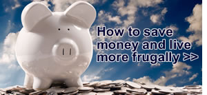 How to save money and live more frugally